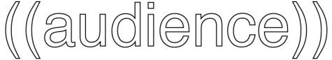 ((audence)) logo